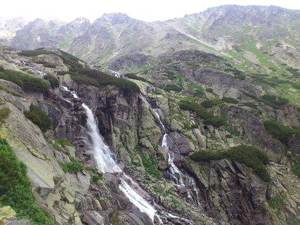 FOTKA - Vysoké Tatry - vodopád Skok a skály