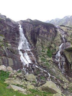FOTKA - Vysoké Tatry - vodopád Skok.
