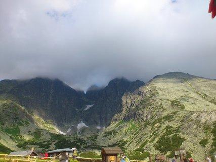 FOTKA - Vysoké Tatry - pohled k Lomnickému štítu