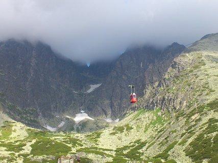 FOTKA - Vysoké Tatry - lanovka na Lomnický štít