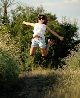 FOTKA - kousek si poskočím