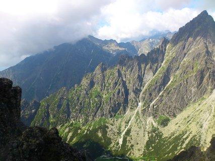 FOTKA - Vysoké Tatry - na Lomnickém sedle, krásný pohled