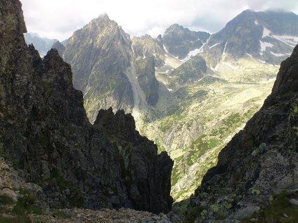 FOTKA - Vysoké Tatry - Lomnické sedlo, krásně osvícené