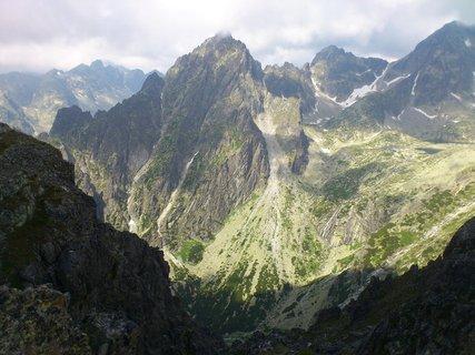 FOTKA - Vysoké Tatry - Lomnické sedlo, přiblížená hora