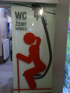 FOTKA - Vysoké Tatry - WC ženy