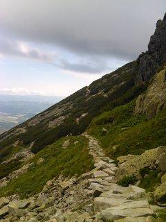 FOTKA - Vysoké Tatry - chodníček