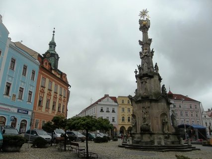 FOTKA - J. Hradec .. náměstí