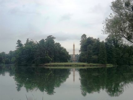 FOTKA - Lednice.. v dálce Minaret