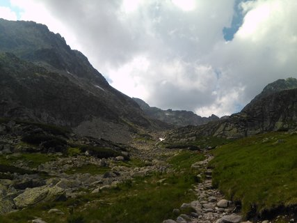 FOTKA - Vysoké Tatry - cesta přede mnou