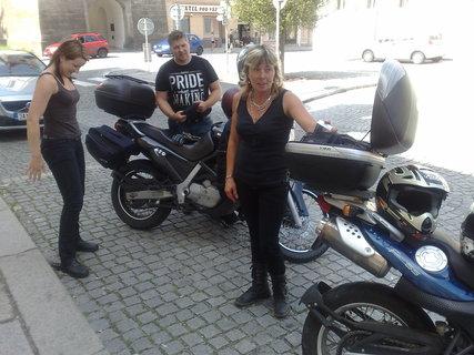 FOTKA - výlet na motorce