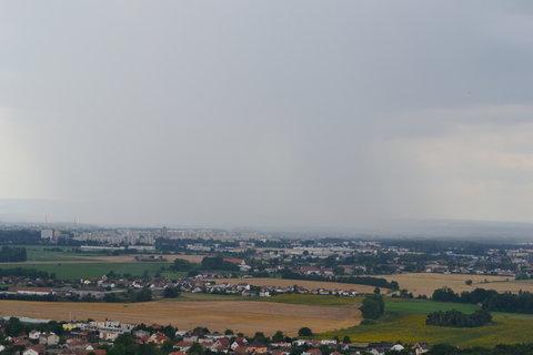 FOTKA - V dálce prší, do 10ti minut nás to taky zastihlo