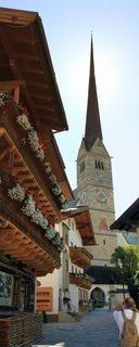 FOTKA - Procházka k Postalmu - Věž kostela v Maria Alm