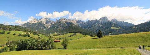 FOTKA - Procházka k Postalmu - Panorama hor