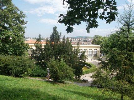 FOTKA - Boskovice, skleník v parku
