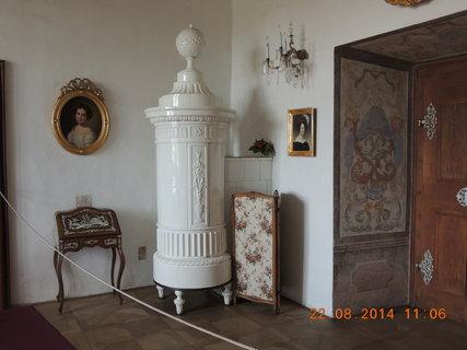 FOTKA - Dámský salonek - kachlová kamna