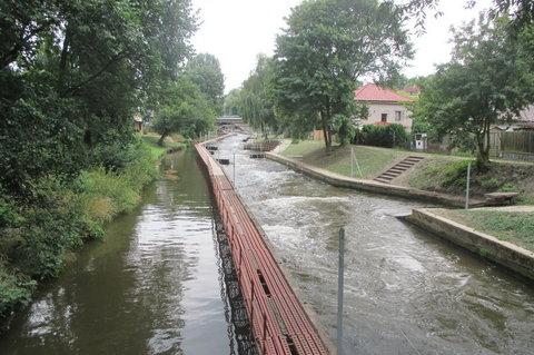 FOTKA - Kanál Brandýs - Poslední  metry  sjezdu