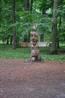 FOTKA - Dřevěný rozcestník