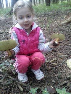 FOTKA - jeej,našla jsem dve houbičky