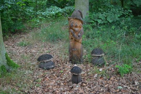 FOTKA - Vodník s houbičkami