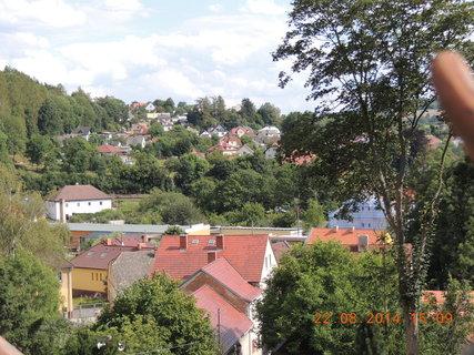 FOTKA - Pohled na městečko Zruč n/S