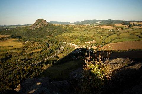 FOTKA - Bořeň z Želenického vrchu