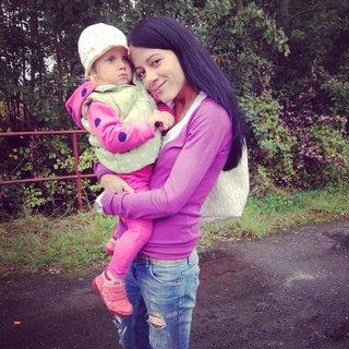 FOTKA - malá s tetou Pavlinkou