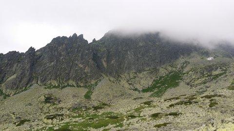 FOTKA - Vysoké Tatry - skalnatá zeď