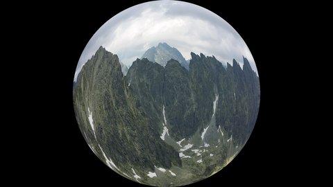 FOTKA - Vysoké Tatry - země je kulatá