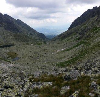 FOTKA - Vysoké Tatry - jdeme dolinou