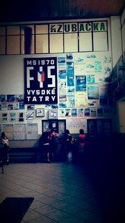 FOTKA - Vysoké Tatry - v nádražní budově