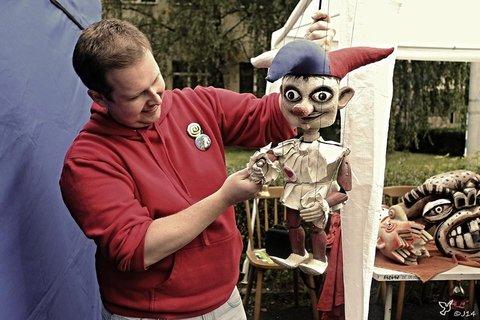 FOTKA - loutka-Marioneta