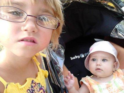 FOTKA - segry -Miška a malá Kristýnka**