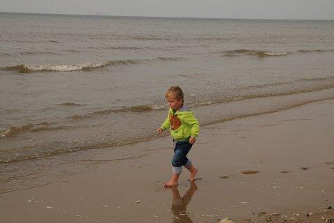 FOTKA - ..delám v písku šlapaje