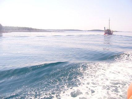 FOTKA - Moře z lodě