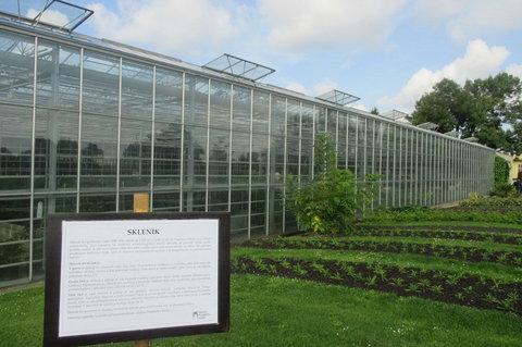 FOTKA - Produkční zahrady Pražského hradu : Jsou tu tři moderní skleníky mající rozlohu cca 2100m.