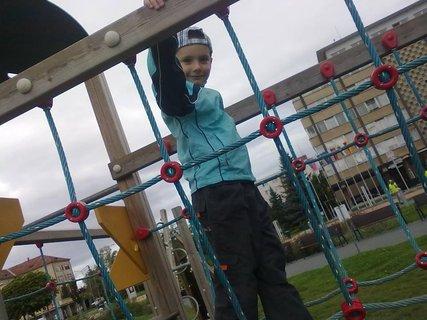 FOTKA - na detském hrišti