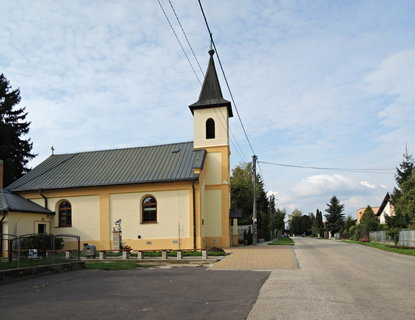 FOTKA - kostelík v Podhájské
