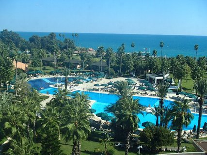 FOTKA - Turecko-pohľad na more z balkóna izby