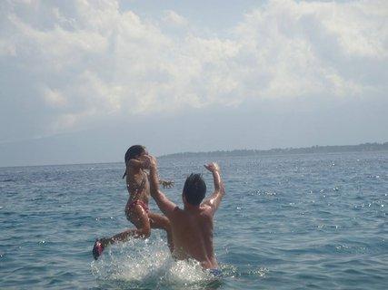 FOTKA - dovádení v mori--