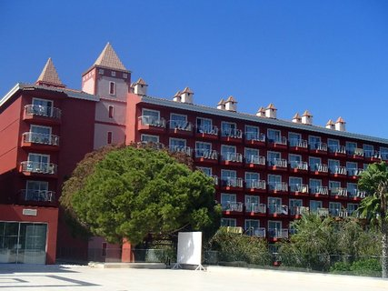 FOTKA - Turecko-pohľad na hotel z terasy