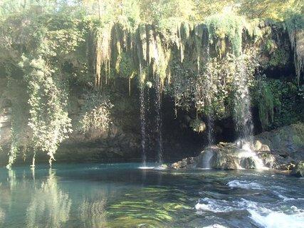 FOTKA - Turecko-padajúce vodopády na rieke Duden
