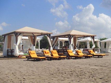 FOTKA - Turecko-baldachýny na pláži