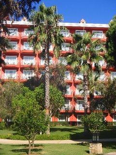 FOTKA - Turecko-hotel zakrývajú palmy