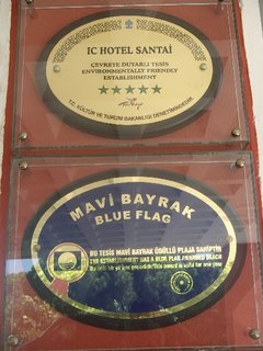 FOTKA - Turecko-hotelový nápis