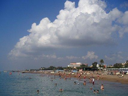 FOTKA - Turecko-oblaky nad morom
