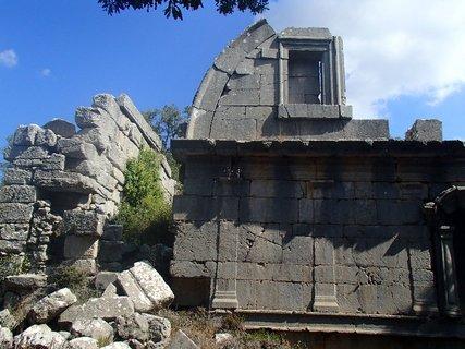 FOTKA - Turecko-zbytky kamenného mesta Termessos
