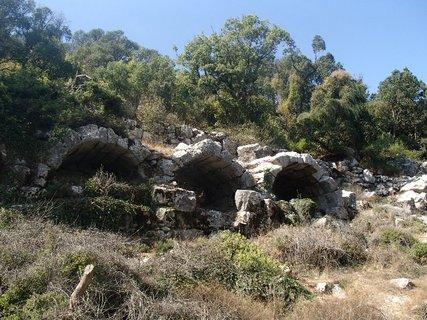 FOTKA - Turecko -Termessos - zásobárne potravín