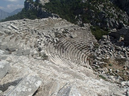FOTKA - Turecko-Termessos - amfite�ter