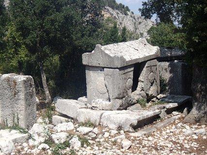 FOTKA - Turecko-Termessos-hrobky