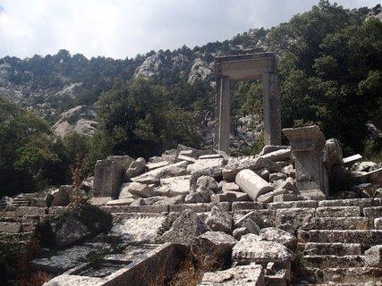 FOTKA - Turecko-Termessos-mesto dobíjal aj Alexander Veľký, čo sa mu však nepodarilo